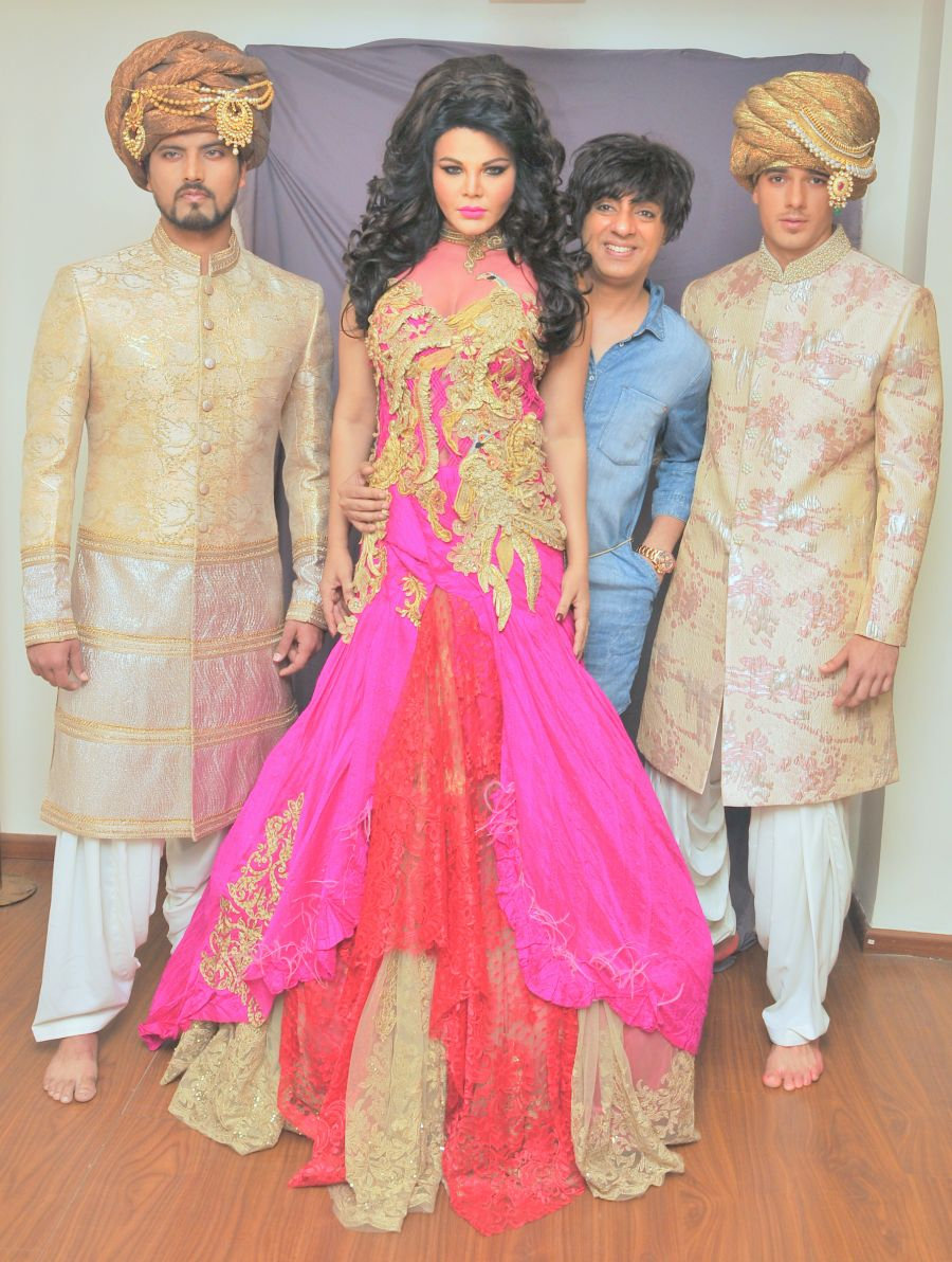 NEW COLLECTION LAUNCH : GOLDEN GLAZED ROHIT VERMA