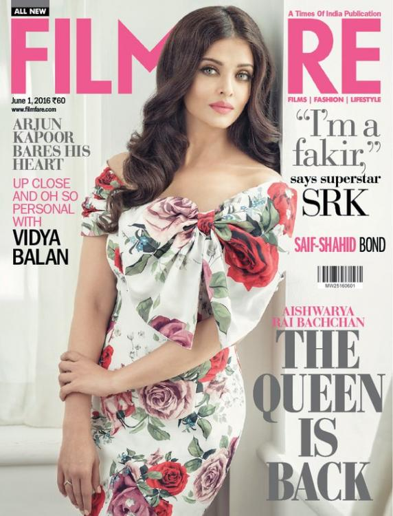 The Queen is Back! Aishwarya Rai Bachchan Graces May Issue of Filmfare!