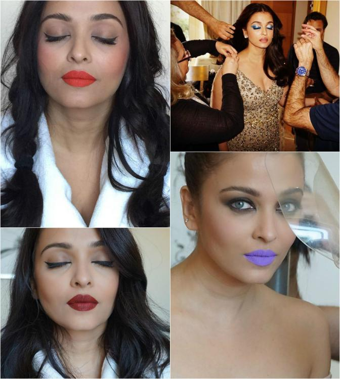 In Pics: How Aishwarya Got Her Makeup Game Point On For Cannes