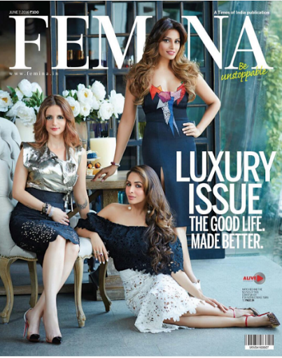 Bipasha, Sussanne & Malaika Sizzle on the Latest Issue of Femina