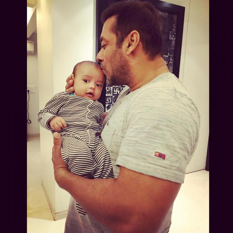 Aww! Maamu Salman Kissing Nephew Ahil Is the Best Thing You will See on Internet Today
