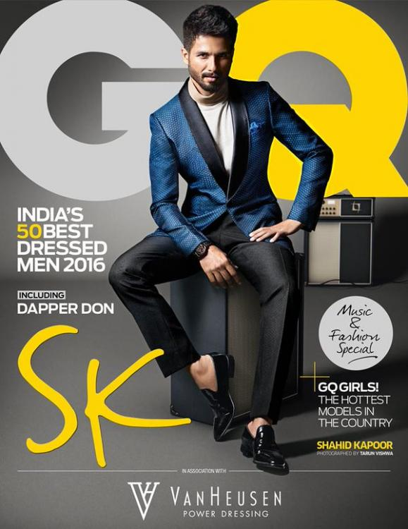 Oh Hotness! Dapper Shahid Kapoor Makes it to GQ's 50 Best Dressed Men List