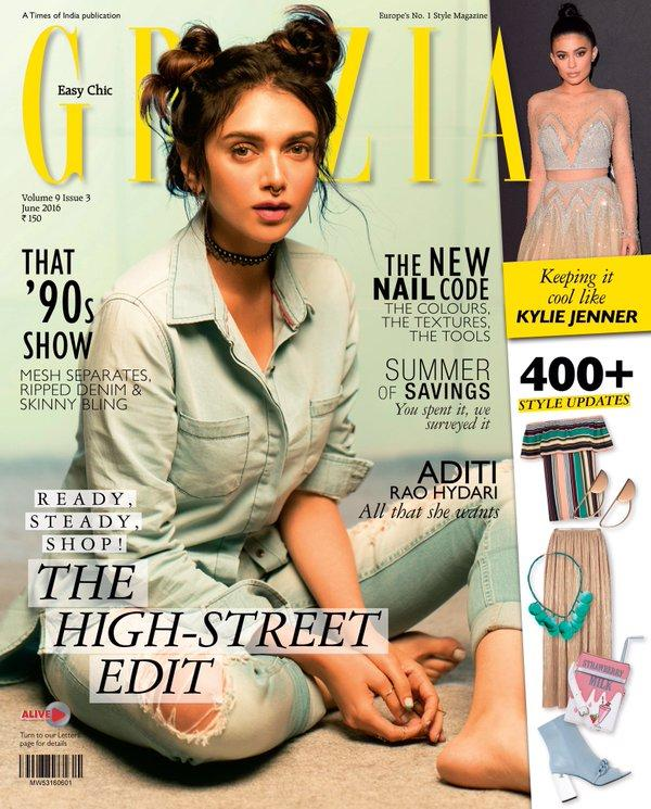 Aditi Rao Hydari Nails the Skater Girl Inspired Look For Grazia's Latest Issue