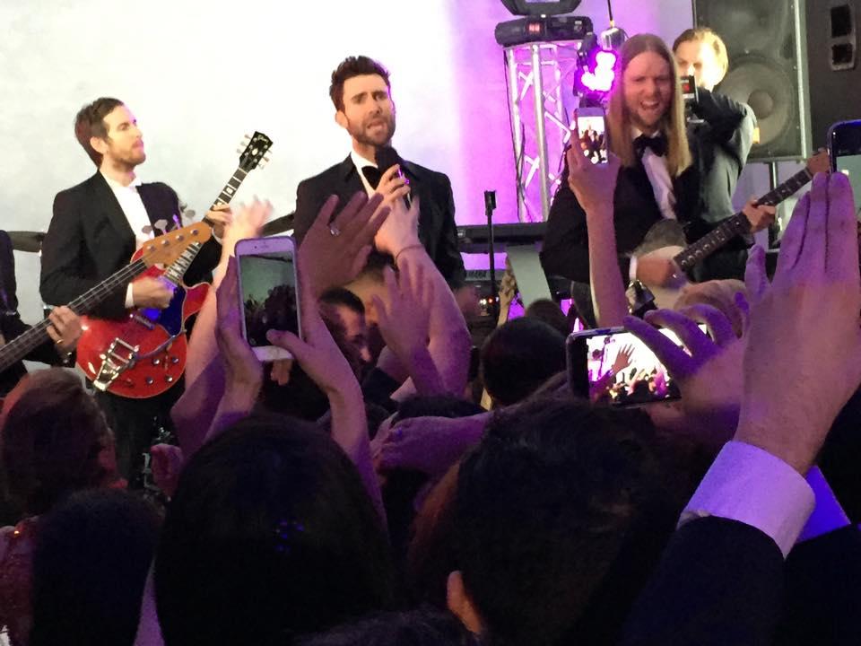 Maroon 5 Crash A Wedding